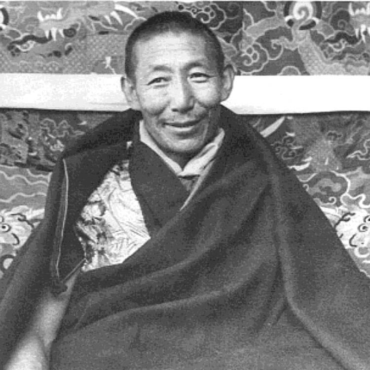 H.H. Kyabje Trijang Rinpoche: click on image for description